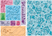 Cuttlebug All-In-One Embossing Plates, Twinkle