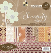 Diecuts With A View Serenity Paper Stack 12'X12' 48 Sheets