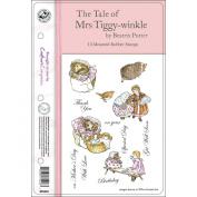 Beatrix Potter EZMount Stamp Set - 14cm x 22cm -The Tale Of Mrs. Tiggy-Winkle
