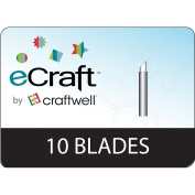 Craftwell Ecraft Replacement Blades, 10 Per Package