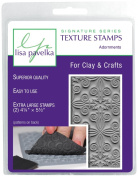 Lisa Pavelka 327091 Texture Stamp Kit Adornments