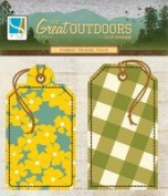 GCD Studios - The Great Outdoors Collection - Fabric Travel Tags