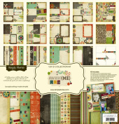Simple Stories Awesome 30cm by 30cm Collection Scrapbooking Kit