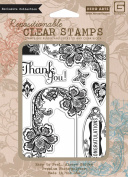 Hero Arts Rubber Stamps Love and Lace PolyClear Stamps