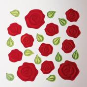 LOVE Gel Gem - Roses (13x10)