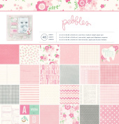Pebbles 48-Sheet Special Delivery Girl Paper Pad, 30cm by 30cm