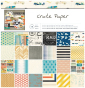 Crate Paper 48-Sheet Boys Rule Paper Pad, 30cm by 30cm