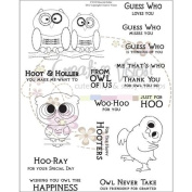 Clear Stamps 15cm x 20cm -Hoot And Holler