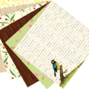 Martha Stewart Crafts Paper Pad, Nature, 30cm by 30cm , 24 Sheets