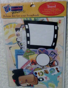 """Remember When Deluxe Kit for Your Scrapbook """"Travel"""""""