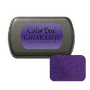 Clearsnap ColorBox MicaMagic Purple Full-Size Fast Drying Acid-Free Pigment Ink Pad