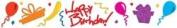 Sizzix Sizzlits Decorative Strip HAPPY BIRTHDAY