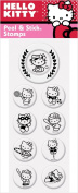 PSA Essentials Peel and Stick Stamps, Hello Kitty Tee Time
