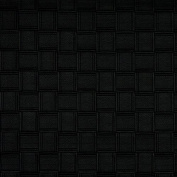 G691 Black, Basket Woven Look Upholstery Faux Leather By The Yard
