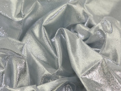 110cm wide Japanese Paper Lame Dress Fabric Silver - per 5 metres