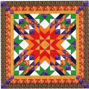 Easy Quilt Kit Autumn Star