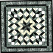 Easy Quilt Galaxy Star Black and White Nuetrals