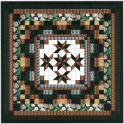 Easy Quilt Kit Nine Patch Star Lily Nuetral