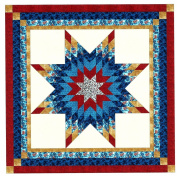 Easy Patriotic Lonestar Quilt Kit