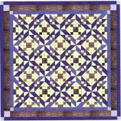 Easy Quilt Beautiful Purple Winding Roads