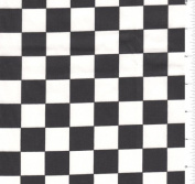 Poly/Cotton Racing Cheque Print Fabric-15 Yards Wholesale By the Bolt