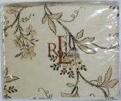Lauren by Ralph Lauren Bedding, Plage D'Or Floral Queen Flat Sheet