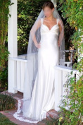 Wedding Bridal Veil Ivory Cathedral Length