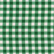 Oilcloth 2.5cm Wide 12yd Roll-Gingham- Bottle Green