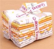 Fat Quarter fabric bundle animal orange Quilting Treasures