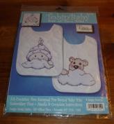 Tobin Stamped Cross Stitch Kit - Girl Baby Buggy