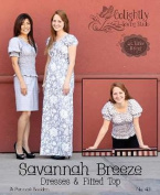 Savannah Breeze Dress Pattern By Lila Tueller LT43