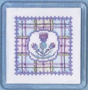 Textile Heritage Coaster Kit - Tartan Thistles
