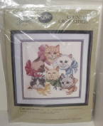 Something Special Counted Cross Stitch Cats and Bows #50340