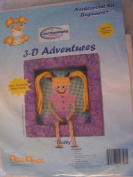 Dolly 3-D Adventures Needlepoint Kit