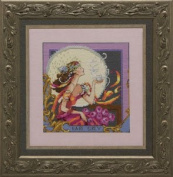 Silver Moon Tea Counted Cross Stitch Chart Mirabilia