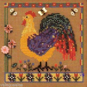Mill Hill Buttons Beads Counted Cross Stitch Kit - Spring Rooster