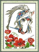 Happy Forever Cross Stitch,The animals, the shy horse