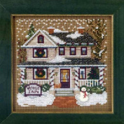 Village Inn - Beaded Cross Stitch Kit MH143302 - Buttons & Beads 2013 Winter