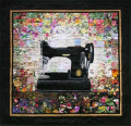 Whims Watercolour Quilt Kits Grandma's Sewing Machine Quilting Supplies