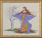 Design Works Counted Cross Stitch kit - Unicorn
