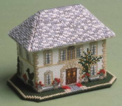 The Nutmeg Company The Chateau 3D Cross Stitch Kit