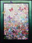 Whims Watercolour Quilt Kits Butterflies are Free Quilting Supplies