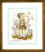 The Little Goat Herder, - Hummel Cross Stitch Kit