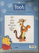 """T"" is for Tigger Counted Cross Stitch Kit"