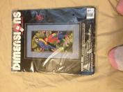 Dimensions Tropical Birds Counted Cross Stitch Kit #3722