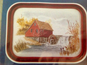 Cathy Needlecraft, Vintage, Watercolour Accent, Vintage Classic Series, Mill Pond 4057 Kit