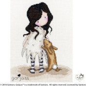 Bothy Threads Gorjuss I Love You Little Rabbit Cross Stitch Kit