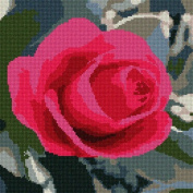 Rose Needlepoint Canvas