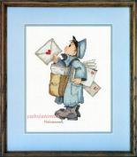 The Postman, - Hummel Cross Stitch Kit