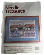 Needle Treasures Autumn Sails Marilyn Davis Needlepoint Kit 06602